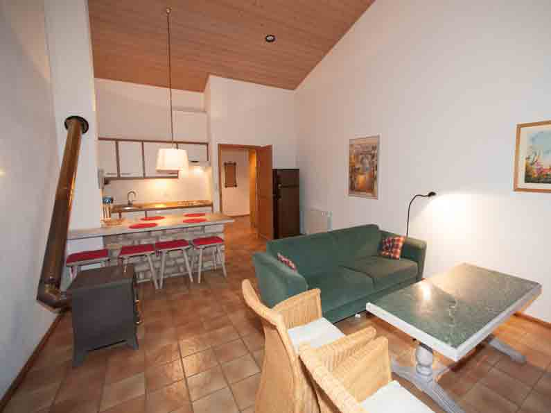Woonkamer Appartement A